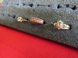 Lot of 3 Vintage Rings