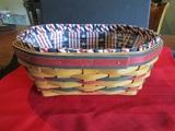 Vintage Longaberger Basket, signed
