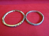 Lot of 2 Vintage Bracelets