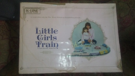 K-Line Little Girls Train Set