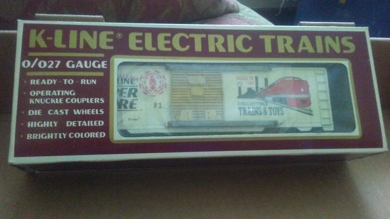 K-Line Holiday Superstore #1 Collectible Trains and Toys