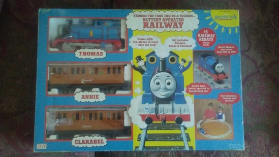 Thomas and Friends Battery Operated Railway Set