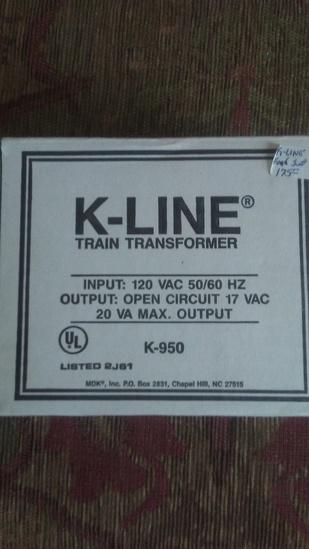 K-Line Train Transformer