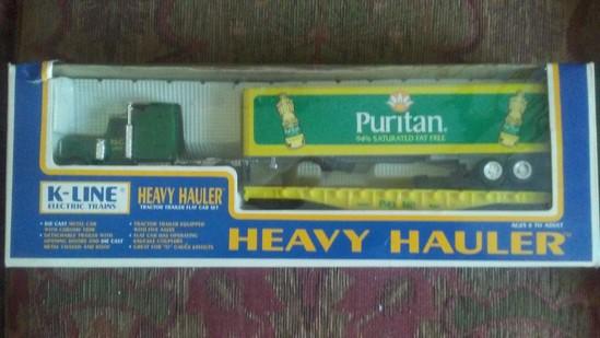 K-Line Puritan Heavy Hauler Set