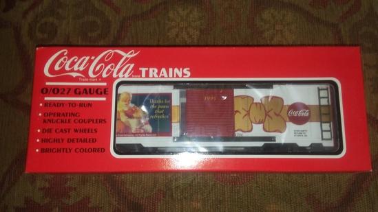 K-Line Coca Cola 95 X-mas Boxcar