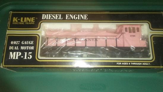 K-Line Pink Diesel Engine MP-15