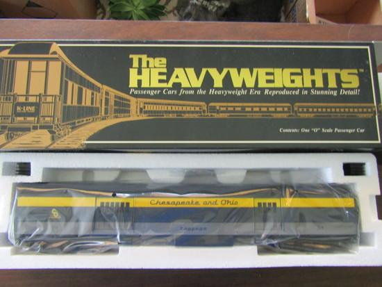 K Line Heavyweights K4415-0314, Baggage Car in Original Box