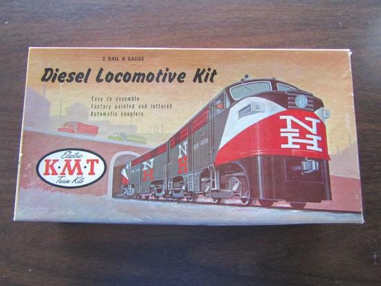 KMT Diesel Locomotive Kit, O Gauge, Kit # 01:9.00 MKT Powered Loco