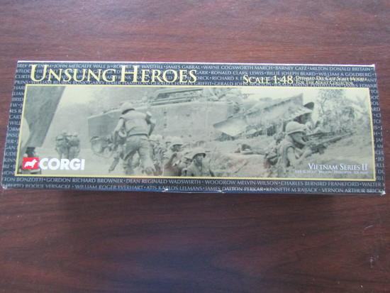 Corgi Unsung Heroes UH-1C Huey Medevac, US Army, in Original Box