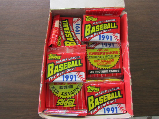 Topps 40 Years of Baseball Card Collection in Original Box