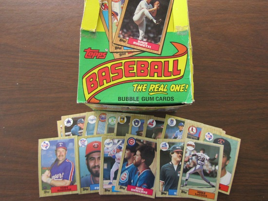 Topps Baseball Cards, in Original Box