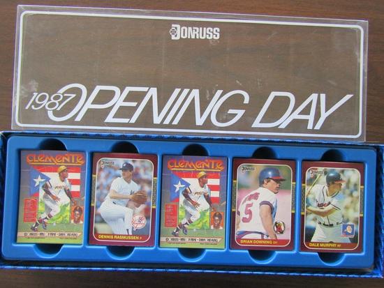 DonRuss 1987 Opening Day Baseball Cards in Original Box