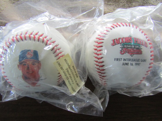 Lot of 2 Baseball, Jim Thome McDonalds Sluggers Series 25, Jacobs Field 1997