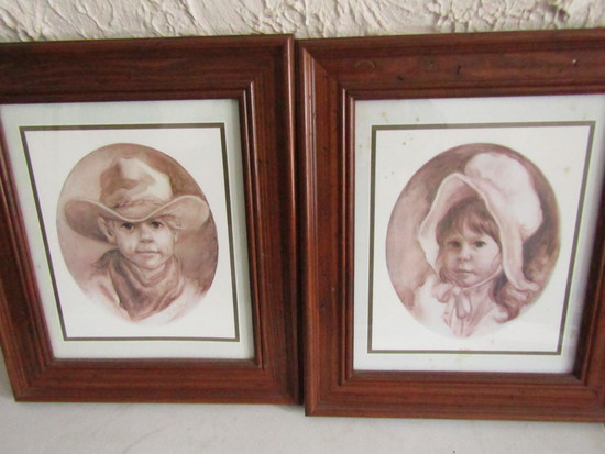 Lot of 2 Vel Miller Framed Pictures