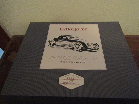 Rodders Journal Vintage Catalog Collection Box Set