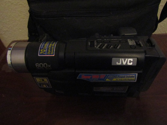 JVC Compact VHS Camcorder with case