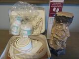 Vintage Stomp Gnome, Lady Sunbeam Hair Dryer, Mini Blinds