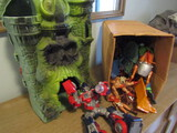Lot of Toys, Castle, Figurines