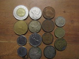 Lot of 15 International Coins