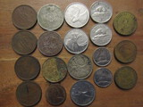 Lot of 19 International Coins