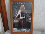 Framed Linda Vaughn Poster and pictures