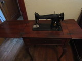 Singer Electric Sewing Machine with Stand/Cabinet