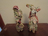 Lot of 2 Victorian Figurines