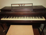 Lester, Betsy Ross Spinet Piano and Bench