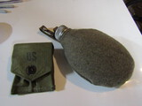 Lot of 2, Canteen and Ammo Pouch