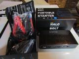 Halo Bolt Portable Car Jump Starter, New in Original Box