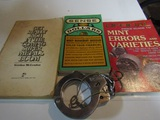 Lot of 4, 3 Books and Handcuffs with key