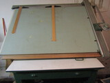 Professional Drafting Table on Metal Base 48