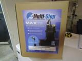 Max 75 Multi Step Sump Pump in Original Unopened Box
