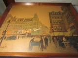 Vintage Framed Painting signed Brisson, 26