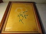 Signed W. Landrum Painting on Canvas, 32