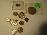 Lot of 10 Coins, including NRA Collector Coin