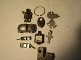 Vintage Collectables, Pewter VW Car, Lock