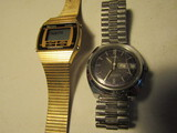 Lot of 2 Mens Watches, Timex and Mercury