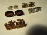 Lot of 5 Vintage Cuff Links