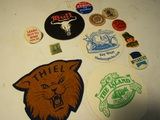 Collectibles, 1 Cent Stamp, Patch, Buttons, Coasters
