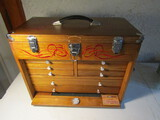 Vintage Windsor Design 8 Draw Tool Chest, Wood
