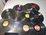 Lot of 15 Vintage Record Albums no Sleeves