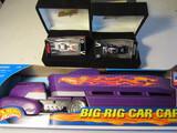 Lot of 3, 2 John Force Funny Cars and Hotwheels Big Rig