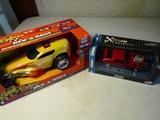 Lot of 2 Extreme Machine and Rev & Race, Original Box