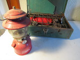 Lot of 2 Coleman Lantern and Camp Stove
