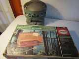 Lot of 2 Coleman Camp Heater and Century Camp Stove