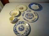 Lot of 6 China, Royal Doulton Bunnykins, Masons England