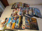Lot of 40 DVDs