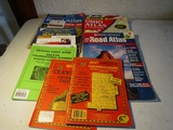 Lot of 10 Atlas and Maps