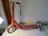 Vintage Radio Flyer Scooter, Retro Red